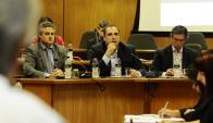 """El subsecretario de Economía, Pablo Ferreri, dijo que """"hay un solo proyecto de ley"""". Foto: D. Borrelli"""