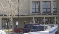 El sospechoso de disparar fue neutralizado por la Policía. Foto: Twitter  @yalinbilgi