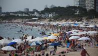 Turistas: prevén ocupación de 80% de hoteles en Punta del Este. Foto: R. FIgueredo