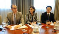 Jean Kees Martijn: el jefe de la misión del FMI hizo un repaso de lo que sugiere tras reunirse con autoridades, analistas y empresarios. Foto: M. Bonjour