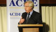 Astori canceló la presentación que tenía prevista realizar en el foro de ACDE. Foto: M. Bonjour