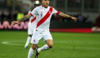 Paolo Guerrero fue sancionado por un año. Foto: AFP.