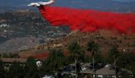 California: los incendios consumieron costosas mansiones. Foto: Reuters