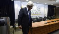 El ministro de Economía pasa por uno de los momentos más complejos de su carrera política. Foto: F. Ponzetto