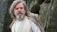 Mark Hamill en Star Wars: Los últimos Jedi