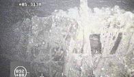 La Armada Argentina difundió una foto y un video de las profundidades del Atlántico Sur donde buscan al submarino. Foto: GDA/LA NACION-Armada Argentina