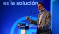 El presidente Mariano Rajoy defiende la unidad de España. Foto: Reuter