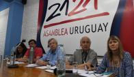 Astori: el ministro de Economía brindó un informe político sobre el Frente Amplio. Foto: A. Colmegna