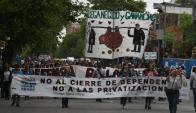 """Los moderados de AEBU cree que radicales quieren """"lograr prensa"""". Foto: A. Colmegna"""