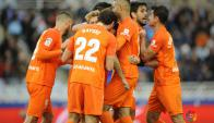 """Buena victoria del Málaga con gol de """"Chory"""" Castro"""