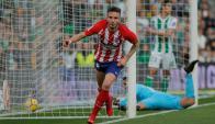 Saúl convirtió el gol del triunfo del Atlético de Madrid
