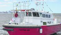Embarcación de alta tecnología uruguaya. Foto: El País