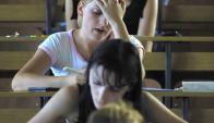 Educación: El trabajo indagó acerca de cómo afecta la insatisfacción. Foto: archivo El País