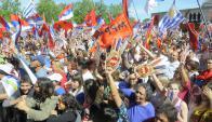Coincidencia es generalizada al interior del Frente Amplio la opinión de que la unidad partidaria no atraviesa por un buen momento. Foto: Archivo El País