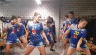 La selección de Handball sueca baila reggaeton