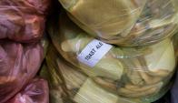 El pan para fabricar la Toast Ale es apartado y marcado. Foto: AFP.