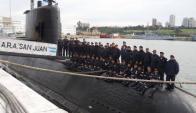 Tripulación del submarino ARA San Juan. Foto: La Capital de Mar del Plata