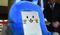Los robots fueron presentados y asistirán a los turistas en el aeropuerto de Tokio. Foto: AFP