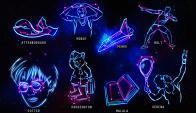 Las ocho nuevas constelaciones. Foto: AFP/Universidad de Birmingham
