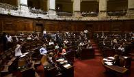 Los diputados aprobaron anoche la ley de violencia contra las mujeres. Foto: M. Bonjour