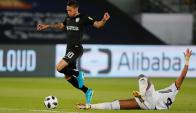 Jonathan Urretaviscaya en el partido del Mundial de Clubes entre Pachuca y Al Jazira. Foto: Reuters