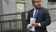 Abogado penal Gumer Pérez. Foto: Francisco Flores