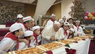 Cumpleaños del papa Francisco. Foto: AFP