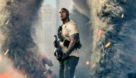 "Dwayne Johnson en ""Rampage: Destrucción"""