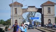 Puente Mauá: en julio del año pasado se eliminaron controles aduaneros. Foto: Archivo