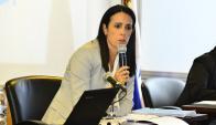"""Fomentar. Lo que busca VIctoria Díaz con la marca """"La Celeste""""."""