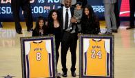 El adiós muy especial a Kobe Bryant