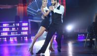 Flor Vigna y Gonzalo Gerber en el tango. Foto: Difusión
