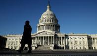 Capitolio: Congreso de Estados Unidos en Washington. Foto: AFP