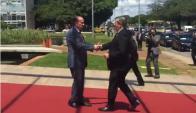 Nin Novoa en Cumbre del Mercosur.