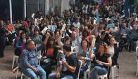 Se agravó el conflicto del sindicato judicial. Foto: A. Colmegna