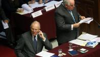 El abogado defensor de Kuczynski denunció un golpe de Estado en Perú. Foto: EFE