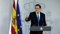 Mariano Rajoy, presidente del gobierno español. Foto: AFP.