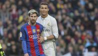 Lionel Messi y Cristiano Ronaldo. Foto: Mundo Deportivo.