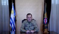 Guido Manini Ríos, comandante en jefe del Ejército. Foto: Captura YouTube.
