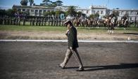 """El Ejército ejecuta la política exterior del Estado en otros países y lleva """"solidaridad"""". Foto: F. Ponzetto"""
