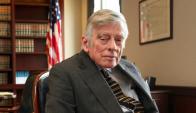 Thomas Griesa, juez federal de Nueva York. Foto: La Nación.