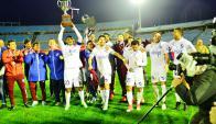 Nacional campeón del flamente Intermedio. Foto: Gerardo Pérez