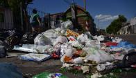IMM esperaba 30% más de basura en la calle, aumento real se ubicó en el 50%, Foto: Fernando Ponzetto