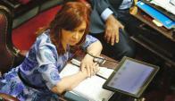 Cristina Fernández. GDA/La Nación