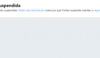 La cuenta de Tabaré Vázquez fue suspendida. Foto: Captura