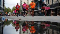 Maratón. La de Montevideo es el principal punto del calendario: será el 15 de abril. Foto: Fernando Ponzetto