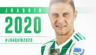 Joaquin renueva hasta 2020 en el Betis