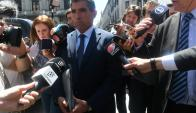 Sendic dijo que espera que mejora la unidad y fraternidad del FA. Foto: A. Colmegna