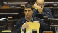 Lima: el intendente es cuestionado en la interna del FA. Foto: Archivo El País