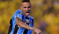 Luan. Debutó con Gremio en enero de 2014 y hoy es la estrella del equipo de Porto Alegre.